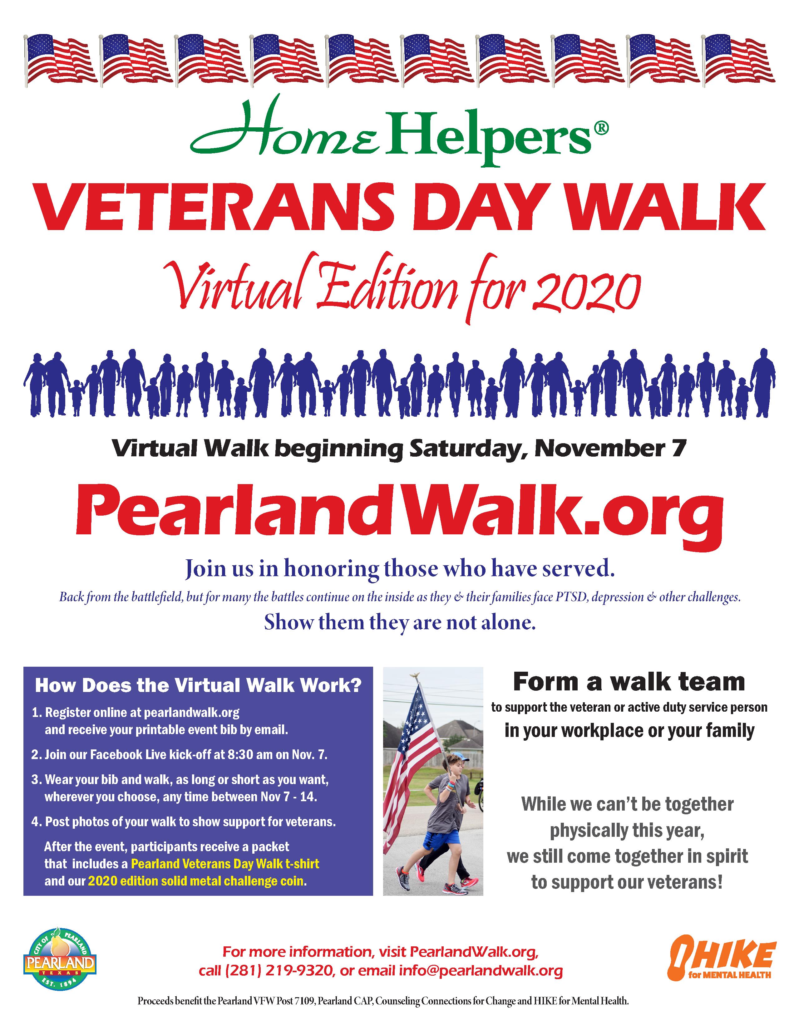Veterans Day Walk 2020