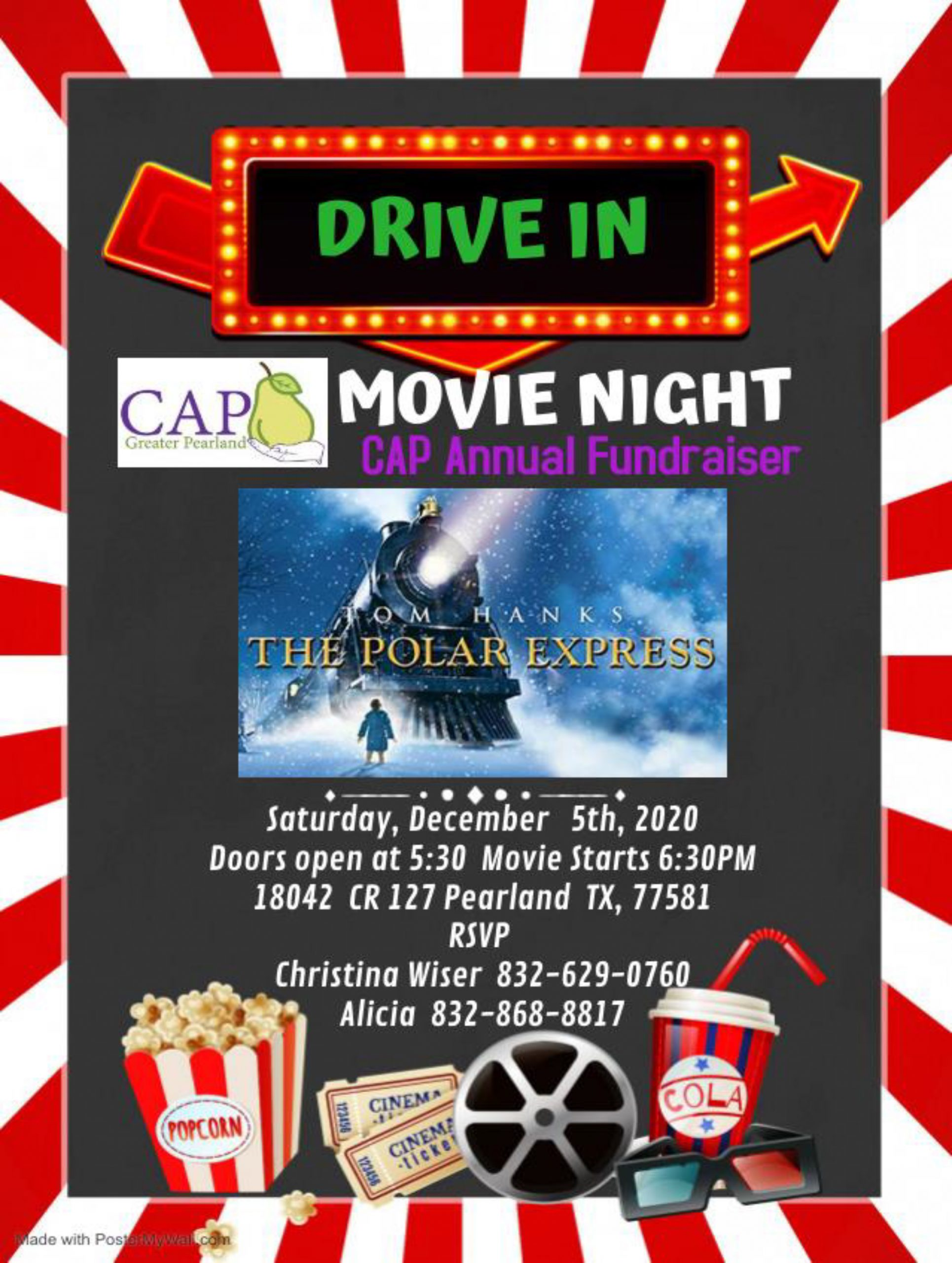 CAP of Greater Pearland Movie Night Winter Showcase